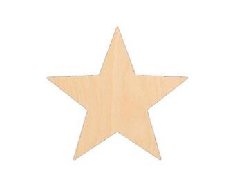 Star 1 - Laser Cut Shapes - LCSH-077