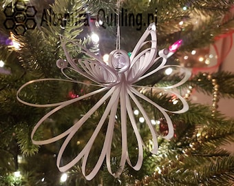 White Angel - on christmas tree