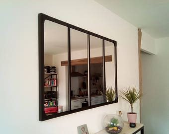 Mirror style industrial canopy 100 X 120 cm