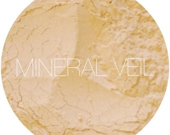 Tinted Mineral Veil • Mineral Makeup • Translucent Setting Powder • Natural Makeup • Earth Mineral Cosmetics