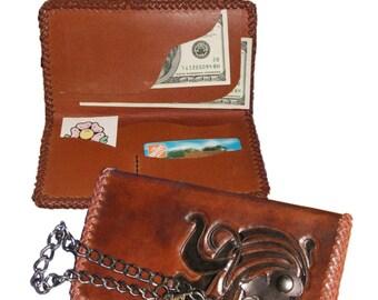 PATTERN - Pocket Secretary Wallet pattern for leather - leathercraft - PDF ONLY