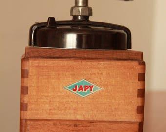 Antique coffee grinder Japy 1948 EX model Bakelite