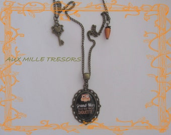customizable too nifty grandmother necklace