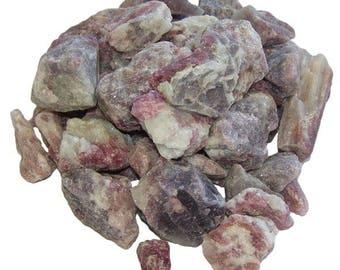 Stone raw pink tourmaline (rubellite) 3-5cm