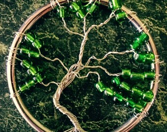 Small Bonsai Tree of Life Pendant