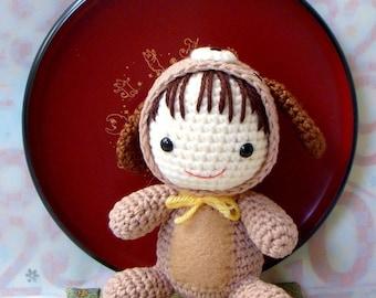 Amigurumi  Pattern - Zodiac Dog Baby - Crochet tutorial PDF