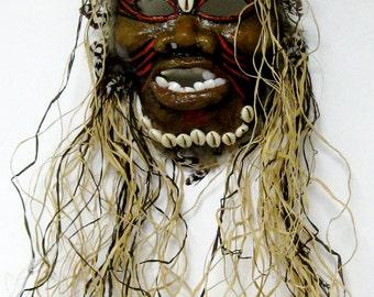 Papua New Guinea/Borneo Mask