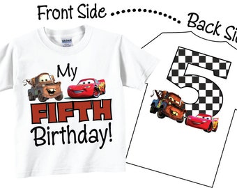 5th Birthday Shirts for Boys Fifth Birthday Tshirts and Tees