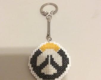 Overwatch Cross Stitch Keychain