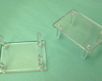 """Plastic Stand - Choose 2.5"""" x 3.5"""" or 3.5"""" x 4.25"""""""