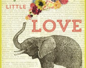 Sometimes just a little love makes a big difference-PosterCard-Maxi