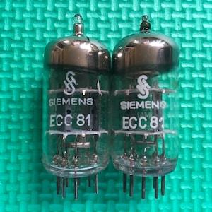 Matched Pair Siemens 12AT7 / ECC81 Vacuum Preamp Tubes Ampoules Buizen  Roehren Valves NOS NIB