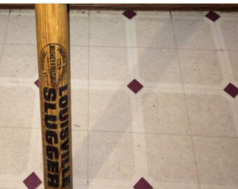 Vintage Louisville Slugger Baseball Bat