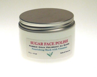 Sugar Face Polish with Wheat Protein and Evening Primrose