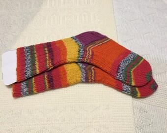 Childs Handknit Socks