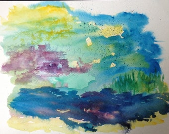 Morning Abstract
