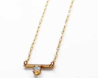 Balance Opal Necklace