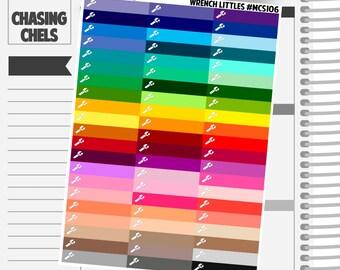 Wrench Littles Headers #MCS106 Premium Matte Planner Stickers
