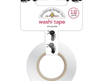 Doodlebug Ant Parade Washi Tape . 12 yards (1 roll)