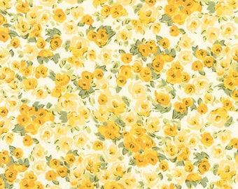 London Calling 8 - Ditsy Floral Yellow - Robert Kaufman (SRK-17695-5) - Cotton Lawn
