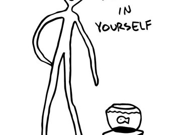 Believe in Yourself: Multipurpose Greeting Card