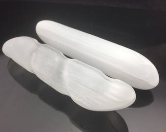 Selenite Wand|Selenite Twist Wand| Selenite