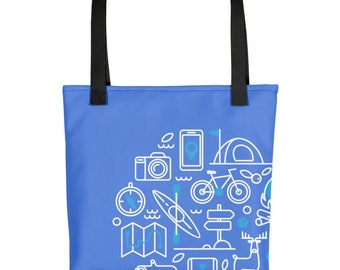 Hiking and Camping Outdoor Tote bag