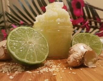 Gingered Lime Sugar Scrub