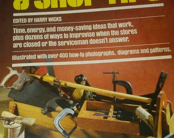 1981 Popular Mechanics 500 Home & Shop Tips Book