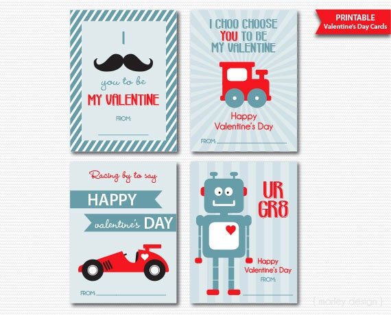 boys valentines cards classroom valentines kids valentines