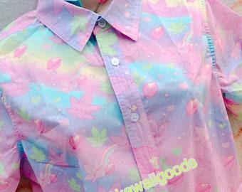 Kush-chan GiggleTree MJ Blouse Size Large (rainbow)