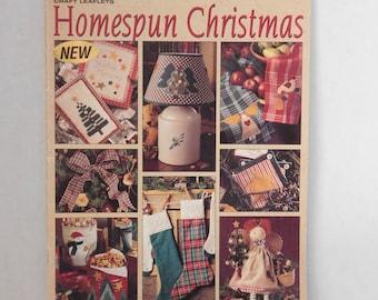 Homespun Christmas Leaflet 1598 Leisure Arts