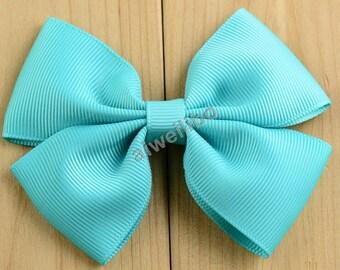 Ribbon Bows ,Grosgrain Ribbon Bows . Baby Girls Diy Hair Accessories