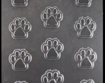 Paw Print Chocolate Candy Mold