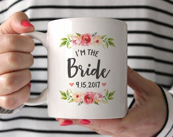 Bride Gift from Sister Bride Gift from Mother Bride Gift from Bridesmaid Bride Gift from Maid of Honor Bride Mug Bride Gift Ideas Pink BGF