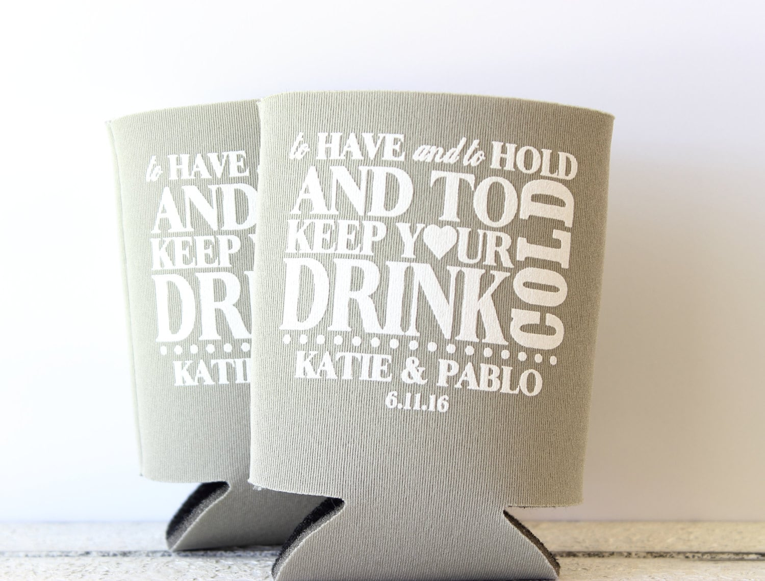 Beer Can Cooler Wedding Can Cooler Have Hold Can Cooler