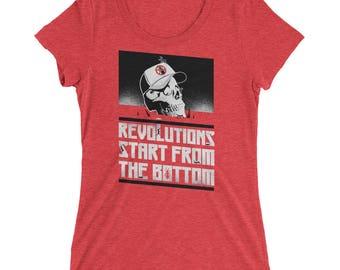 Revolutions Start from the Bottom : Women's
