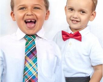 Little Gentleman Tie: Neck Tie Pattern, Bow Tie Pattern