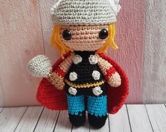 Amigurumi Thor / made to order!
