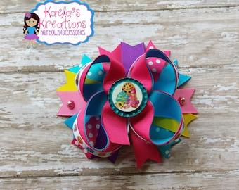 Shopkin Hair Bows, Shopkin Bows, Shopkins, Shopkin Birthday, Colorful Shopkin Hair Bows, Shopkin Party.