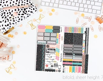 Summer Nights TN STANDARD Weekly Kit // 120+ Matte Planner Stickers // Perfect for your Standard Size Traveler's Notebook // TNS0290