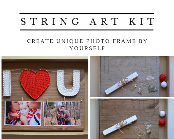 String art kit every love story do it yourself kit nail art solutioingenieria Image collections
