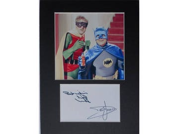 Photo print Only Fools and Horses OFAH Del & Rodney signed autograph 8x6 inch mounted display