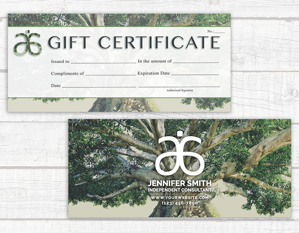 Arbonne inspired gift certificate digital download arbonne zoom xflitez Images