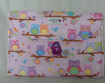 Changing Pad Clutch- Owls