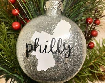 Philadelphia Ornament, Philly Ornament, Philadelphia Gift, Philadelphia, Philly, Philly Decor, Philadelphia Decor, Philadelphia Art