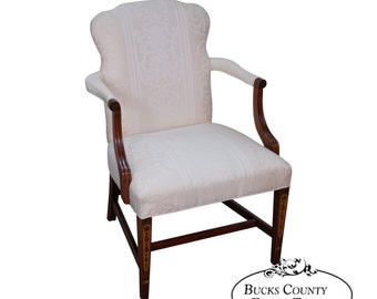 Southwood Federal Style Mahogany Inlaid Arm Chair