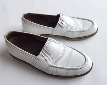 Price down, 1950s rocknroll slip on shoes