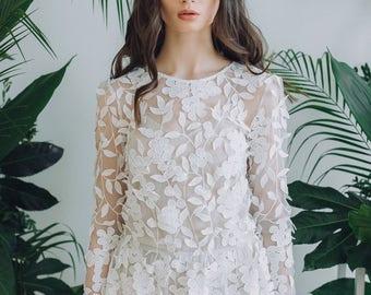 Dress SS18 | Wedding dress Boho wedding dress Romantic Wedding Dress vintage wedding dress elegant wedding gown