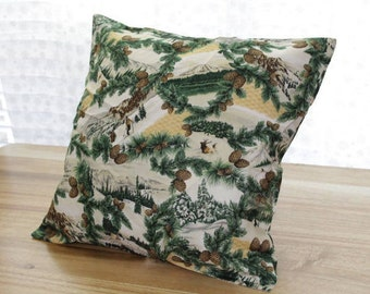 Ski Lodge Decorative Pillowcase Set 18x18